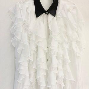 camicia-voulant-bianca-e-nera